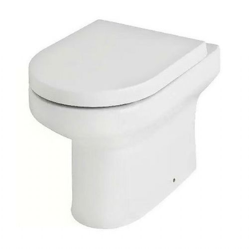 Kartell Revive Back To Wall - Premium Soft Close Seat - White